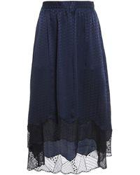 Zadig & Voltaire Joslin Skirt - Blue