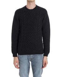 Drumohr Pullover tricot antracite - Nero