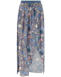 Zadig & Voltaire - Floral Skirt - Lyst