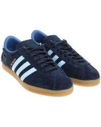 adidas Originals - Dark Blue Berlin Trainers - Lyst