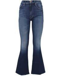 Mother Flared Jeans - Blue