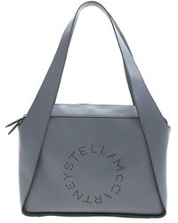 Stella McCartney Tote Large Hobo Bag - Blue
