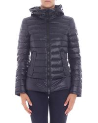 "Peuterey - ""utah"" Black Down Jacket - Lyst"
