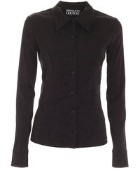 Versace Jeans Couture - Tone-on-tone Pattern Shirt - Lyst