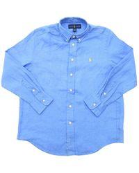 Ralph Lauren Button-down Shirt - Blue