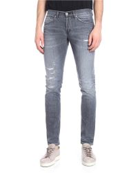 Dondup - Gray Vintage Effect George Jeans - Lyst