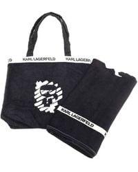 Karl Lagerfeld Beach Set - Black