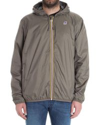 K-Way - Brown Jacques Jacket - Lyst