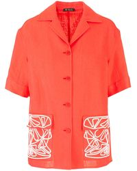 Loro Piana Embroidery Shirt - Pink