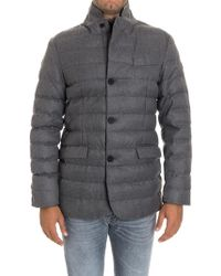 AT.P.CO - Padded Jacket - Lyst