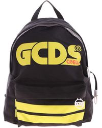 Gcds Green Logo Backpack - Black