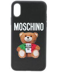 Moschino Cover Iphone Xs/X Nera - Nero