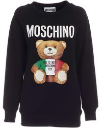 Moschino Teddy Bear Sweatshirt - Black