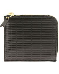 Comme des Garçons - Black Bag With Geometric Pattern - Lyst