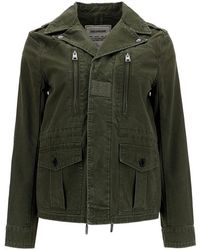 Zadig & Voltaire Denim Jacket - Green