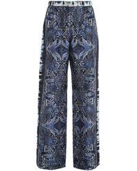 Alberta Ferretti Rapsody Trousers - Blue