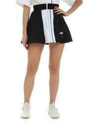 Palm Angels Tennis Track Mini Skirt - Black