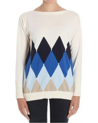 Ballantyne - Ivory Cotton And Cashmere Shirt - Lyst