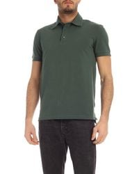 Ballantyne Cotton Piqué Polo Shirt - Green