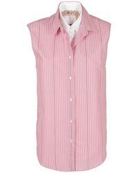 N°21 Two-tone Shirt - Pink