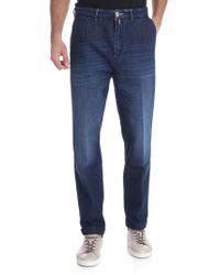 Jacob Cohen Jeans blu tasca america