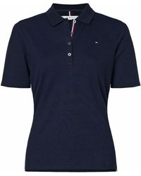 Tommy Hilfiger Polo Essential Logo Blu