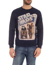Etro Felpa in cotone x Star Wars - Blu