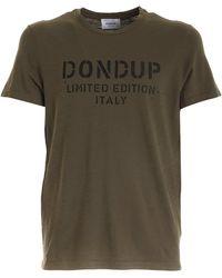 Dondup Stencil Print T-shirt - Green