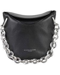 Gianni Chiarini Sophia Soft Bucket Bag - Black
