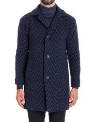 Etro - Wool Coat - Lyst