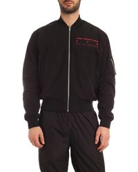 McQ Fire Swallow Jacket - Black