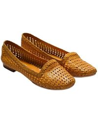 L'Autre Chose - Leather Slippers - Lyst