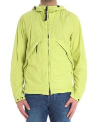 C P Company - Lime Color 50.3 Jacket With Glasses - Lyst