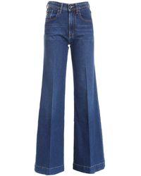 Jacob Cohen Jackie Palazzo Jeans - Blue