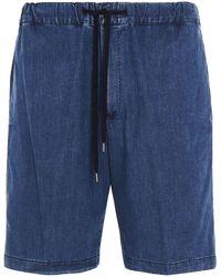 PT01 Chambray Shorts - Blue