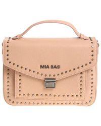 Mia Bag - Powder Pink Shoulder Bag - Lyst