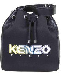 KENZO Kombo Bucket Bag - Black