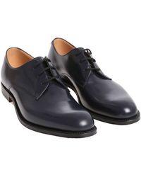 Church's - Blue Oslo Custom Grade Derby Shoes - Lyst