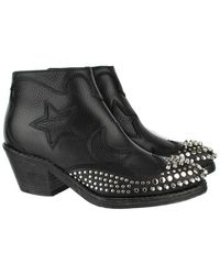 McQ - Leather Boots - Lyst