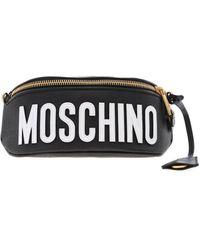 Moschino - Roman Teddy Bear Belt Bag In Black - Lyst