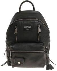 b1c1c9d3bcf Moschino Skull Bomber Jacket Backpack Black in Black for Men - Lyst