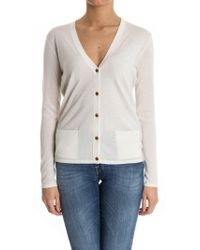 Ralph Lauren Black Label - Cashmere And Silk Cardigan - Lyst