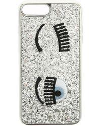 Chiara Ferragni Cover Flirting argento glitter - Metallizzato