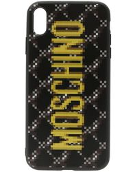 Moschino Black The Sims Edition Quilted Iphone Xs/x Case