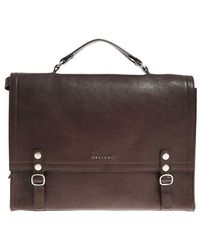Orciani - Dark Brown Shoulder Bag - Lyst