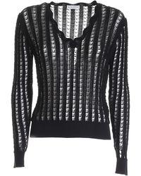 Ballantyne V-neck Sweater - Black