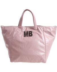 Mia Bag - Pink Patent Faux-leather Shoulder Bag - Lyst