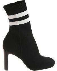 Rag & Bone - Black Ellis Sock Boots - Lyst