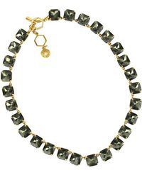 Tory Burch - Stone Short Necklace - Lyst