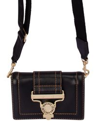 Versace Jeans Belt Cross Body Bag - Black